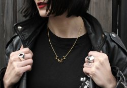 HJÄLTE JEWELLERY, silver and gold jewellery inspired by nature and made in London